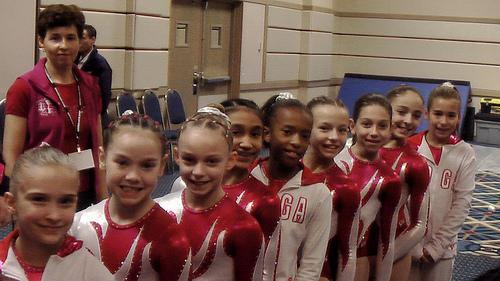 WOGA, Texas gymnasts